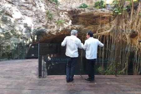 López Obrador y Mauricio Vila llegan a la reunión del Tren Maya en Mérida