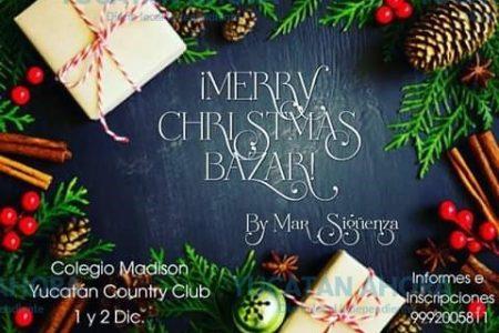 Anuncian segunda edición del Merry Christmas Bazar
