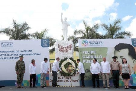 Visión de Carrillo Puerto, necesaria para impulsar a Yucatán
