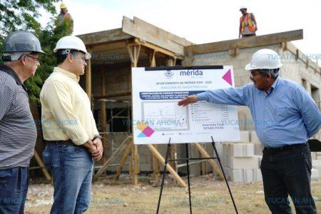 Construyen nuevo comedor comunitario en el sur de Mérida