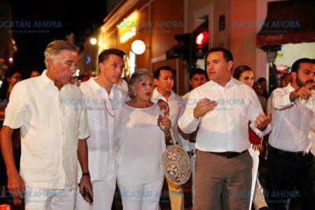Exitosa décima edición de La Noche Blanca en Mérida