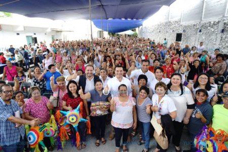 En Mérida las decisiones se toman junto con los ciudadanos: Renán Barrera