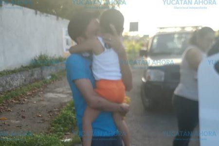 Irving Cervera recupera a su hija y una juez le otorga la custodia legal