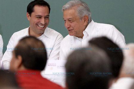Mauricio Vila, presente en el arranque del proyecto Tren Maya