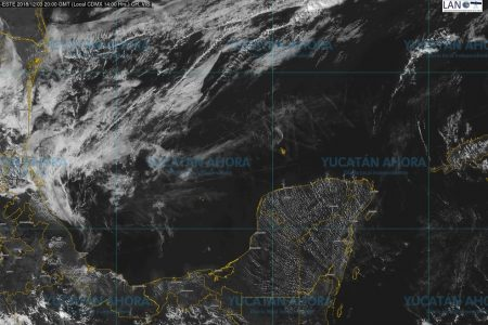 Inofensivo frente frío llegará a Yucatán en los próximos días