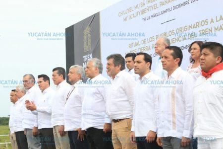 Nos esforzarnos para que el Tren Maya sea provechoso para Yucatán: Mauricio Vila