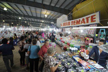 Domingo de remates en la Feria Yucatán