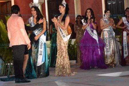 Representante de Chiapas gana el Miss Intercontinental México 2018 celebrado en Yucatán