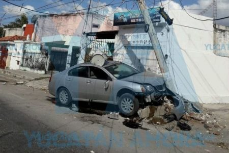 Falla mecánica de frenos deja sin luz a una amplia zona de Chuburná
