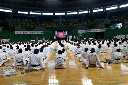 Inauguran congreso estatal de tae kwon do en Mérida