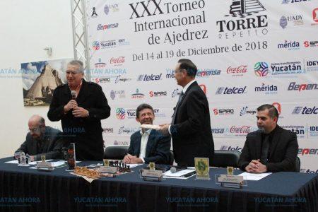 Presentan en la Ciudad de México el Torneo de Ajedrez Carlos Torre Repetto in Memoriam