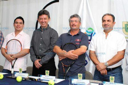 El tenis se pavonea en el estadio Salvador Alvarado