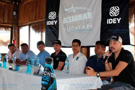 Anuncian campeonato Oceanman Yucatán en Sisal