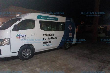 Decomisan ambulancia de Tzucacab por trasladar basquetbolistas
