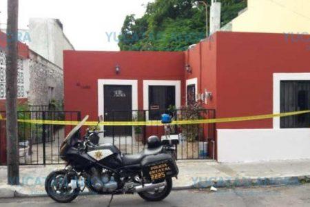 Asalto a mano armada en un predio del centro de Mérida