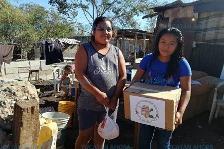 Lanzan reto de donar una cena de Navidad a familias pobres de Mérida