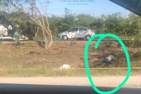 Trágico accidente en el Periférico sur: vuelca camioneta