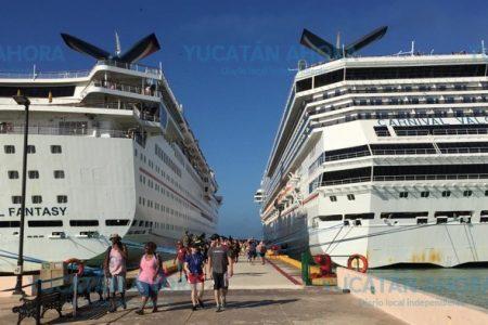 Progreso inicia diciembre con el pie derecho: llegan dos cruceros