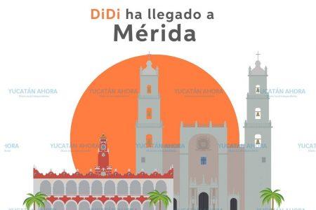 Inicia operaciones en Mérida DiDi, la piedra en el zapato de Uber