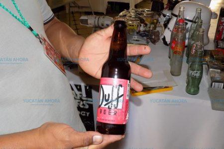 ¿Se te antoja una cerveza Duff? La puedes comprar en Mérida en 400 pesos
