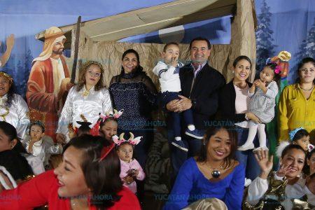 Nada más importante que la niñez: Renán Barrera