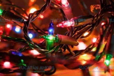 No pongas foquitos de Navidad 'chafa', pueden incendiar tu casa