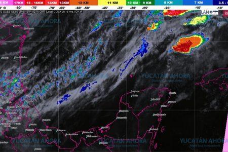 Nublados y lluvias fuertes desde temprano por el frente frío 17