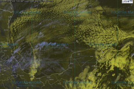 El sur de Yucatán se 'congela' a cinco grados