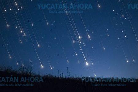 Ya se ve en Yucatán lluvia de estrellas de la Virgen