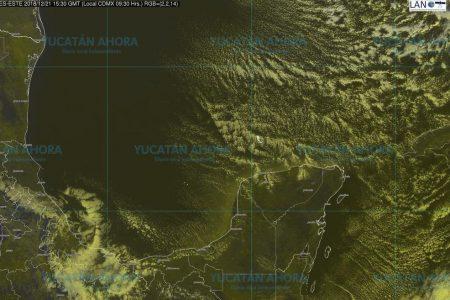 Masa polar enfría inusitadamente Yucatán
