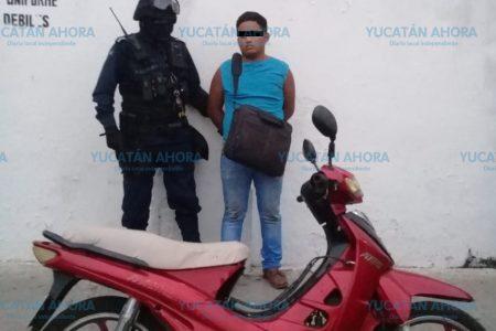 Videocámara delata a ladrón de motocicleta en un hotel