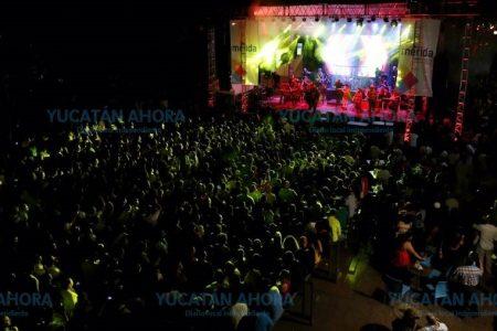 Más de 40 mil personas tomaron calles del centro de Mérida para disfrutar La Noche Blanca