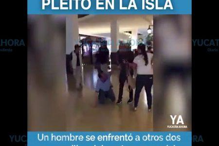 Pleito evidencia la falta de seguridad en Plaza La Isla