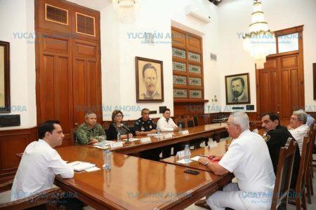 Mauricio Vila instala en Yucatán Mesa para la Construcción de la Paz