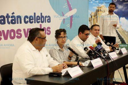 En 2019 Mérida tendrá cuatro nuevas rutas aéreas