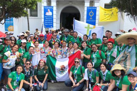 Universitarios yucatecos participan en la Jornada Mundial de la Juventud