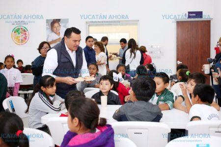 Renán Barrera entrega nuevo comedor escolar para niños y familias del Sur