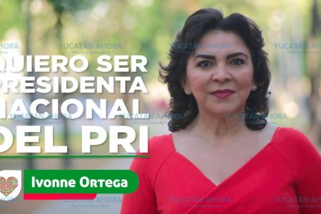 Ivonne Ortega quiere ser presidenta nacional del PRI