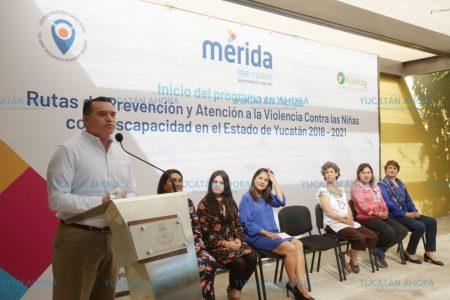 Viven en Mérida 40 mil personas con algunas discapacidad