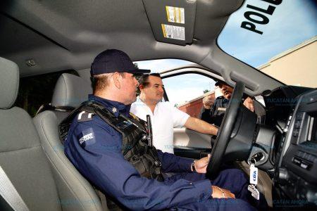 Compromiso con quienes se encargan de la seguridad en el Centro Histórico de Mérida