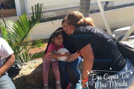 Fans de Ha-ash en Mérida apoyan a necesitados