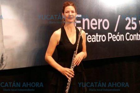 Anuncian uno de los mejores conciertos a flauta en el Teatro José Peón Contreras