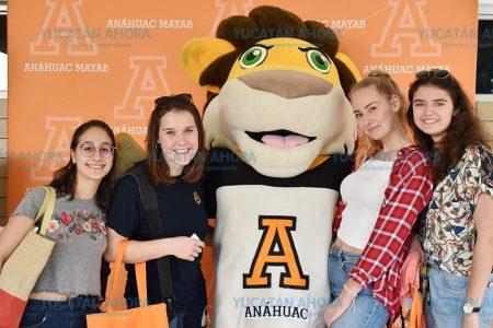 Universidad Anáhuac Mayab da la bienvenida a 62 alumnos de intercambio
