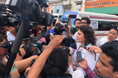 Descarta Ivonne Ortega que aspire a un cargo político en Yucatán
