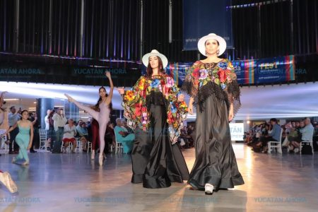 Creaciones de moda yucateca en el Mérida Fest