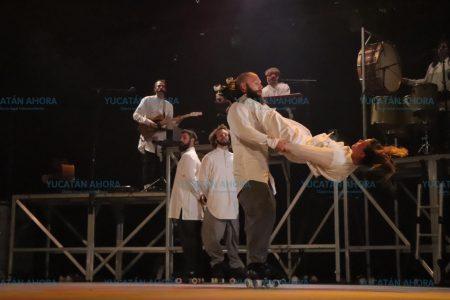 Espectáculo Tabarnak de Cirque Alfonse cautiva en el Mérida Fest