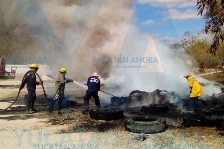 Incendia un almacén por quemar basura