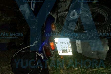 Pareja pierde la vida en accidente de motocicleta