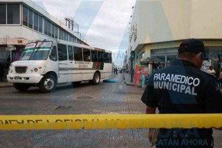 Muere atropellado en el centro de Mérida