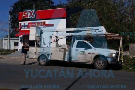 Detienen a 10 empleados de CFE por ocasionar disturbios en Kanasín